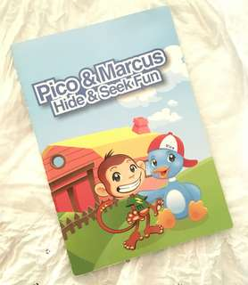 Charity Sale! Pico & Marcus Hide & Seek Fun Children's Book