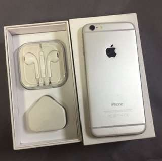 Iphone6 16gb銀 silver original all function working perfect