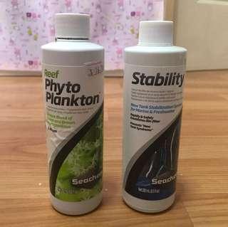 Seachem Phyto Plankton and Stability