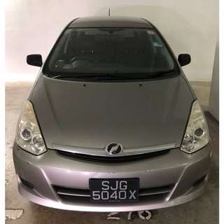 Toyota Wish (GRAB & UBER Enabled)