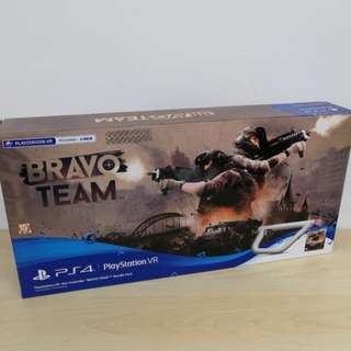 (Brand New) PS4 Bravo Team with Aim Controller Bundle / R3