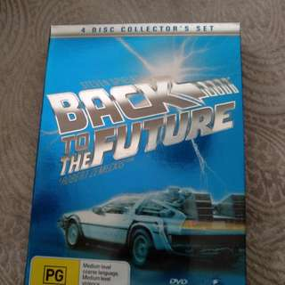 Back to the future 4disc collector's set dvd