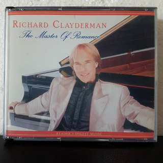 5CD> Richard Clayderman- The Master Of Romance