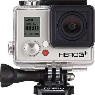 GoPro Hero 3+ black edition and all accessories