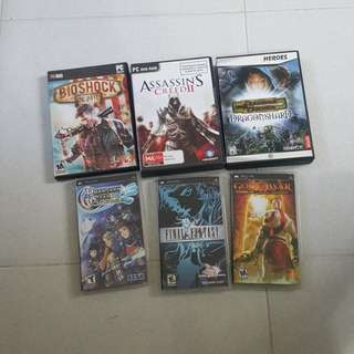 Pc and psp games