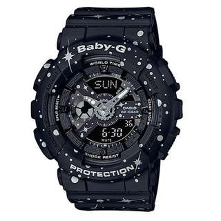BA-110ST-1ADR BA-110ST-1A BA-110ST Brand New Casio Baby-G Quartz 100m Alarm 100% Original Analog Digital Womens Sports Watch w/ Warranty