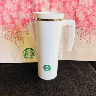 Starbucks Thermal Tumbler with tea hook