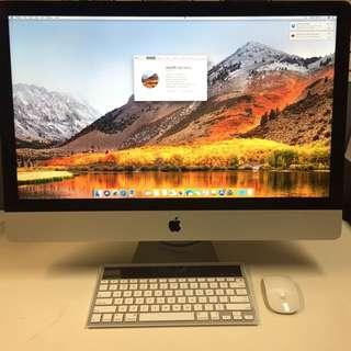 """iMac. 27"""" late 2012, 3.2Ghz i5, 8GB Ram, 1TB HDD"""