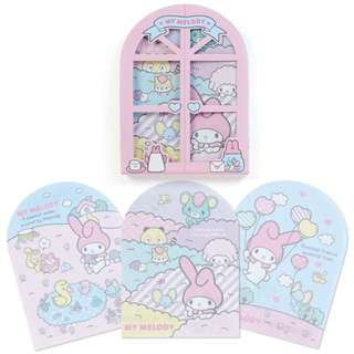 Japan Sanrio My Melody Character Window Memo