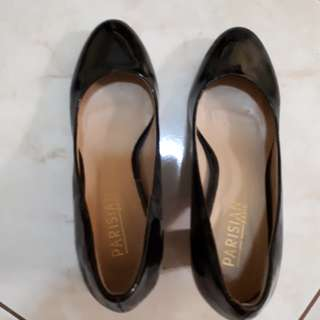 Preloved black shoes(repriced)
