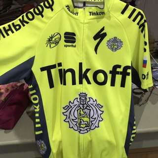 Jersey sepeda tinkoff