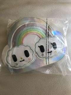 Tokidoki Pastel Pop Rainbow Diecut Coin Purse