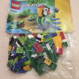 Lego creator forest animals