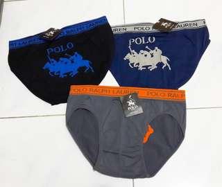 Celana Dalam Polo 1 set = 3Pc