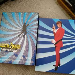 Austin Powes collection shagadelic Box