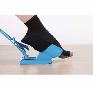 Sock aid or socks slider for elderly, pregnant or the physically challenged