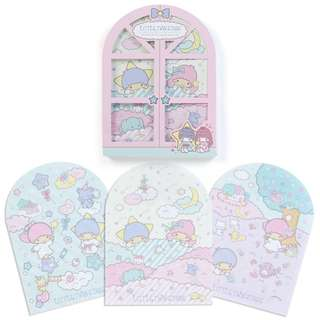 Japan Sanrio Little Twin Stars Character Window Memo