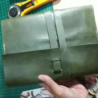 Journal leather cover A5