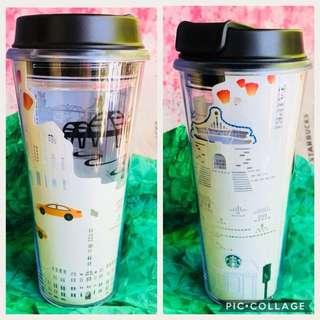 Starbucks Relief Tumbler Taipei
