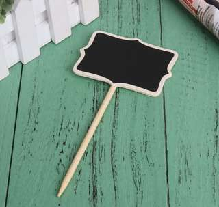 Brand New Mini Rectangle Message Chalkboard / Blackboard