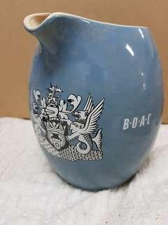 B.O.A.C ceramic jug