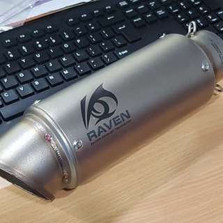 Thanks for sabah biker support Muffler raven stainless steel 61mm diamond ace series Rm350 Get your order pm or whatsapp 0126135416 Pos Rm rm10 Em rm15