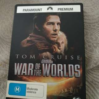 Tom Cruise War of the World steel book dvd