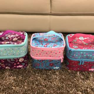Smiggle lunch bags