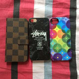 Take all : iPhone 5/5s cases
