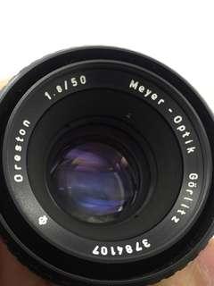Meyer Optik Oreston 50mm F1.8