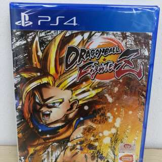 (Brand New) PS4 Dragon Ball Fighter Z / R3