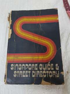 1975 Singapore Guide & Street Directory