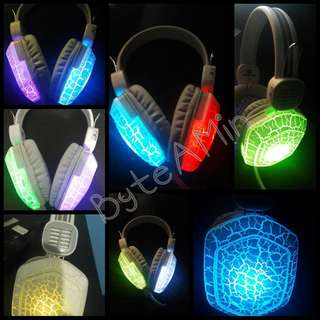 CHEAP! LED Headset