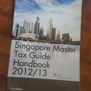 Tax guide handbook ( tax laws singapore)