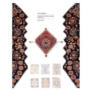 SAMEYEH LOT NO 16073 QUSHGAI FROM S. PERSIA 223 X 155 CM