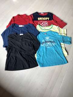 6 pcs Lady's Tees