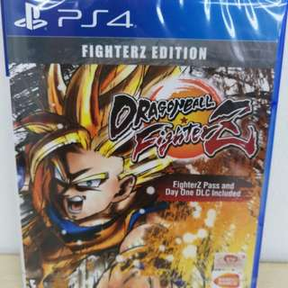 (Brand New) PS4 Dragon Ball Fighter Z Deluxe Edition / R3