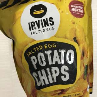 IRVIN POTATO CHIPS 230gr