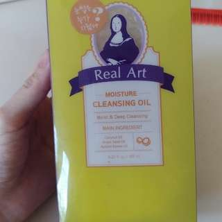 Etude house cleansing oil moisture real art