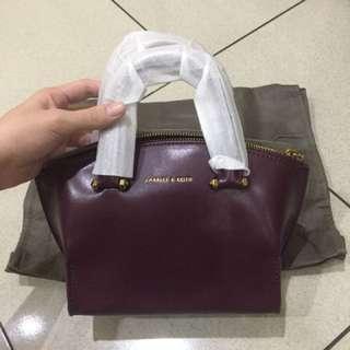 Charles & Keith Zipped Bag