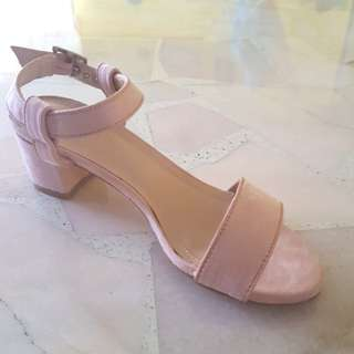 Zalora Block Heel Sandals