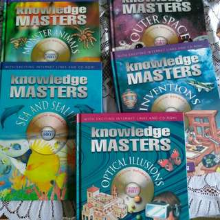 Knowledge Masters with internet link and CD-ROMs