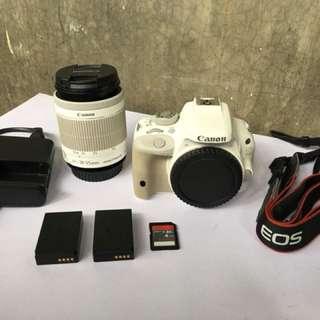 Canon 100D White Complete Set