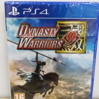 (Brand New)PS4 Dynasty Warriors 9 / R2 (English and Chinese)