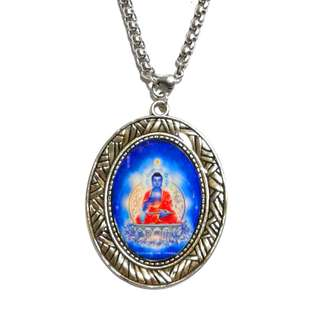 Handmade  Buddha  Tathagata  Resin Pendant 不动如来 NOT FOR SALE