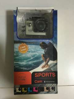 Action Cam sj4000 brand new in box