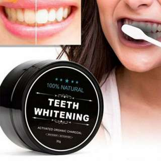 BN charcoal whitening teeth powder free postage 30gm