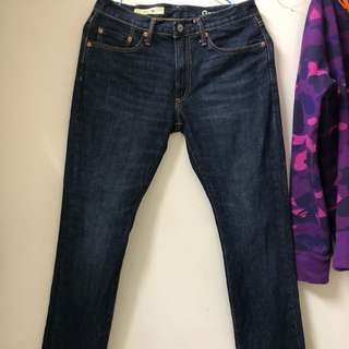 商品:Gap slim jeans