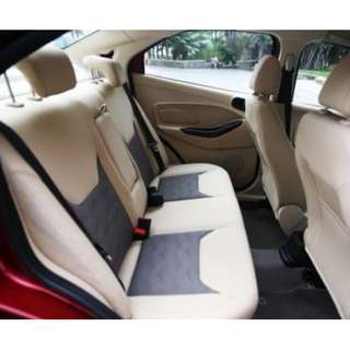 LEATHER SEAT WRAP UPHOLSTERY  - CAR & VAN