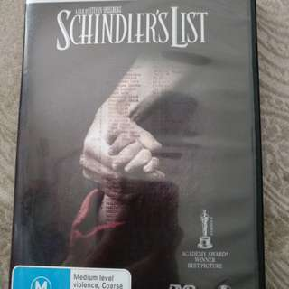 Schindler's List 2disc special edition
